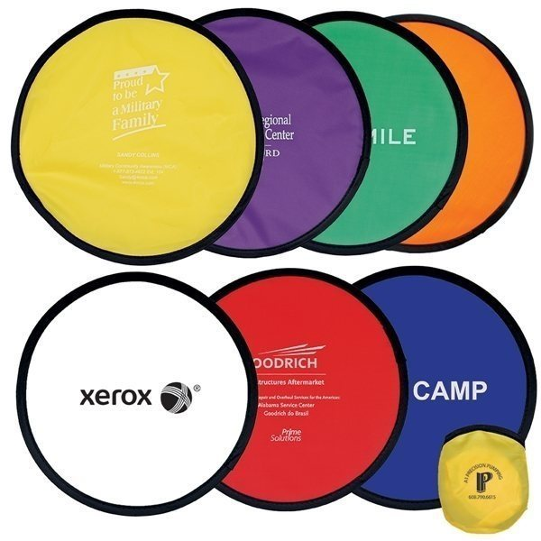 Compact Fold-Up Flying Disc