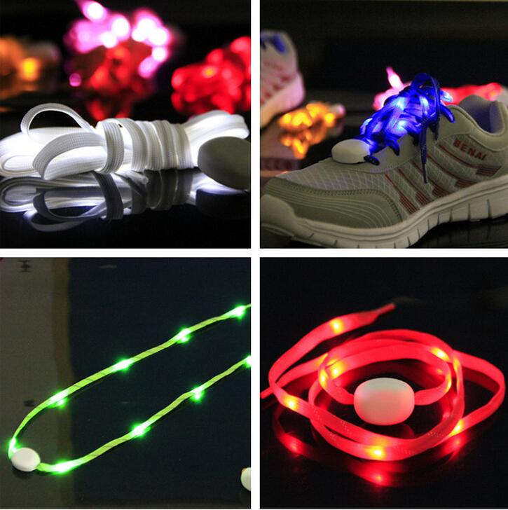 Custom Light Up Flashing LED Shoelace
