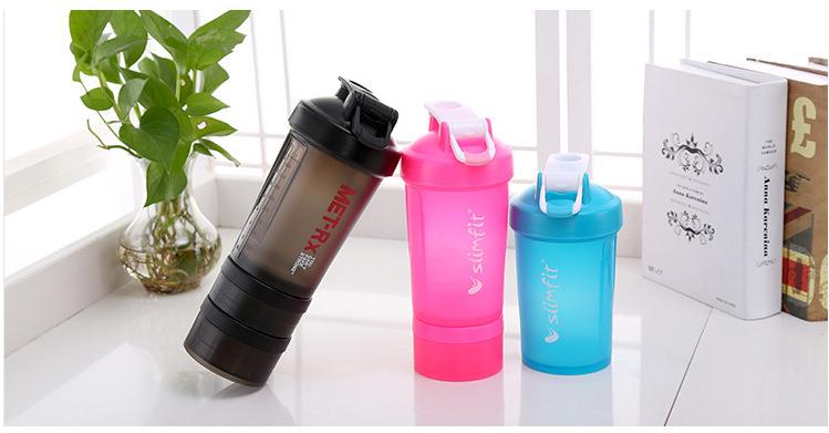 PP Free Protein Shaker Bottle with Custom Logo
