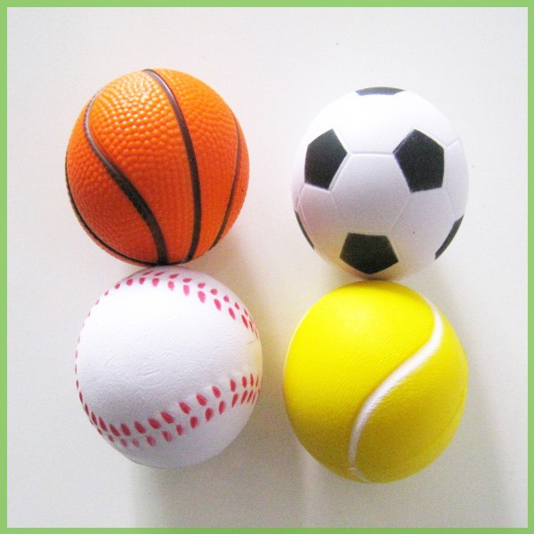 Custom Printed Round Shape PU Stress Ball