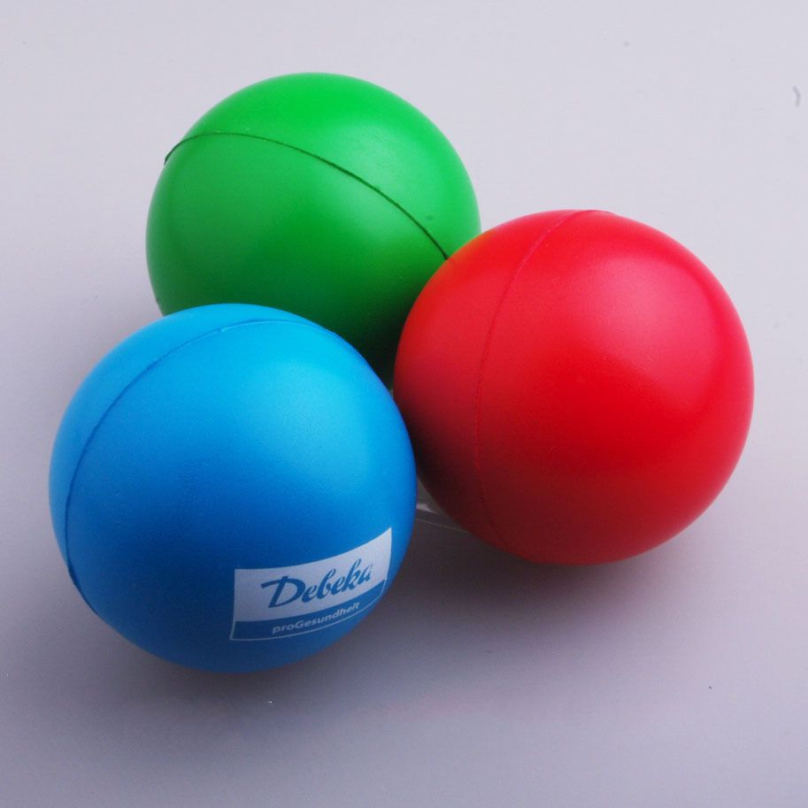 cheap Round PU stress ball with custom logo