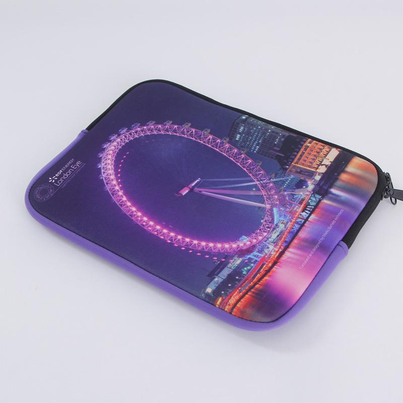 Wholesale fashion custom printed waterproof neoprene laptop sleeve bag for ipad