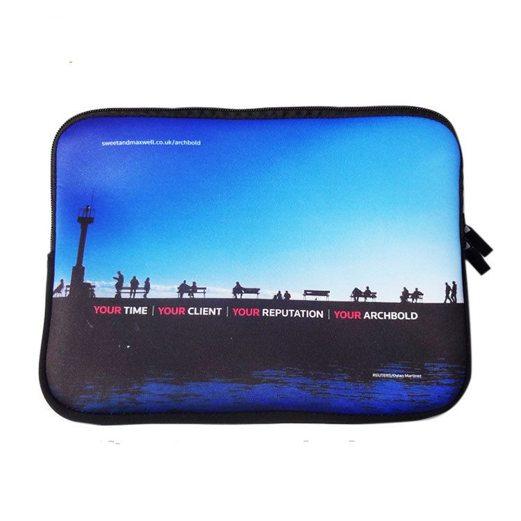 Customized Neoprene Messenger Laptop Bag For Ipad