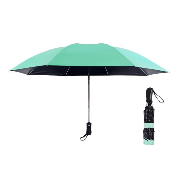 3 fold inverted automatic mini folding reverse umbrella