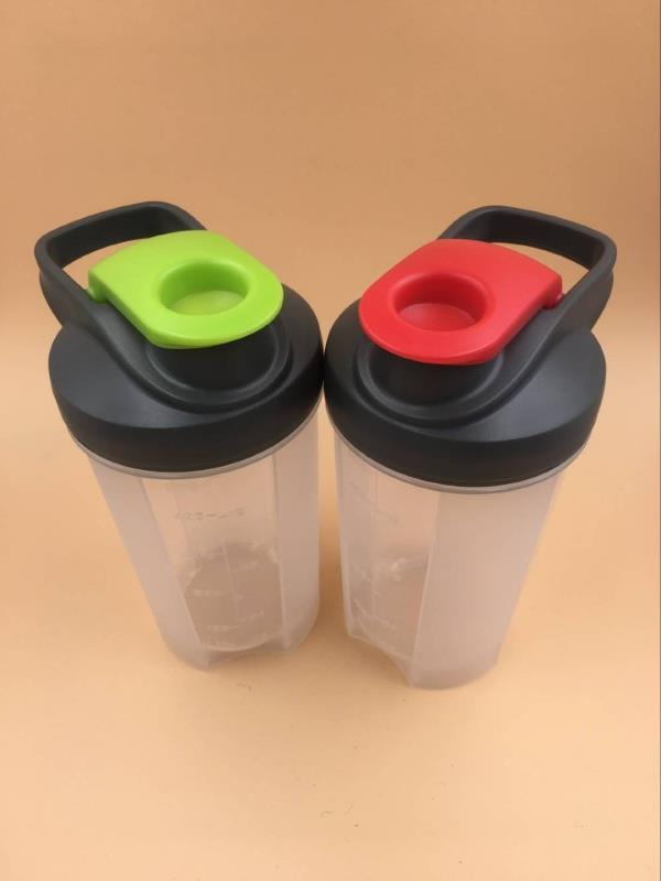 500ml BPA free plastic gym protein shaker shaker bottle