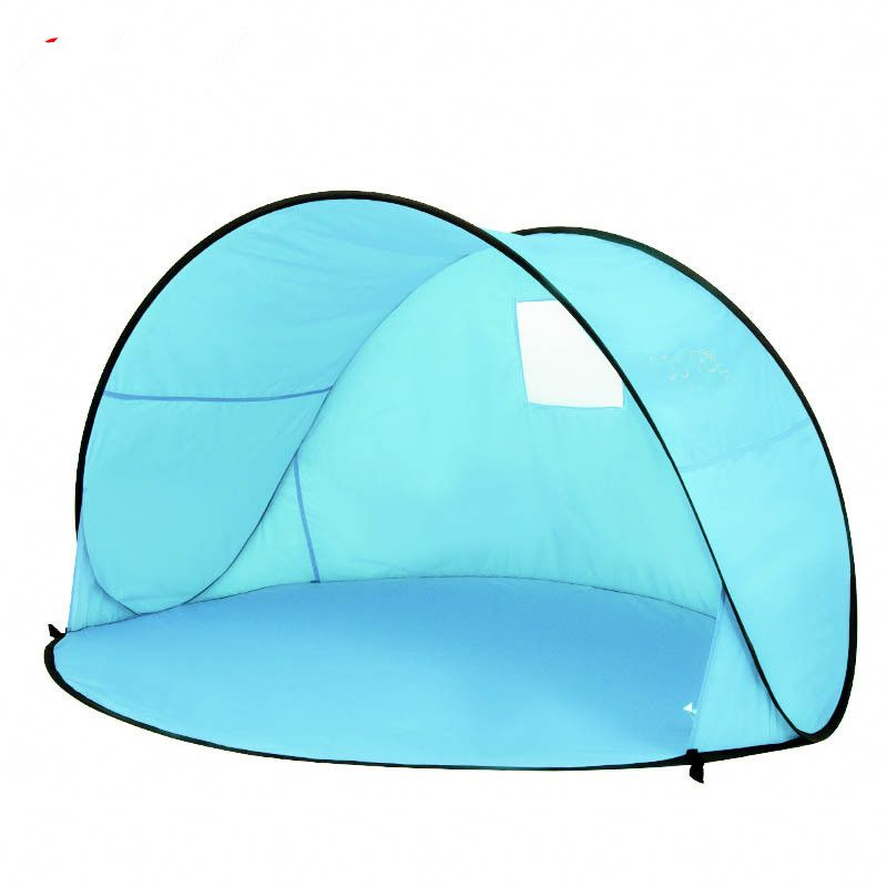 Pop Up Beach Tent Camping Sun Shelter-Outdoor Automatic Cabana 2-3 Person Fishing Anti UV Beach Tent Beach Shelter
