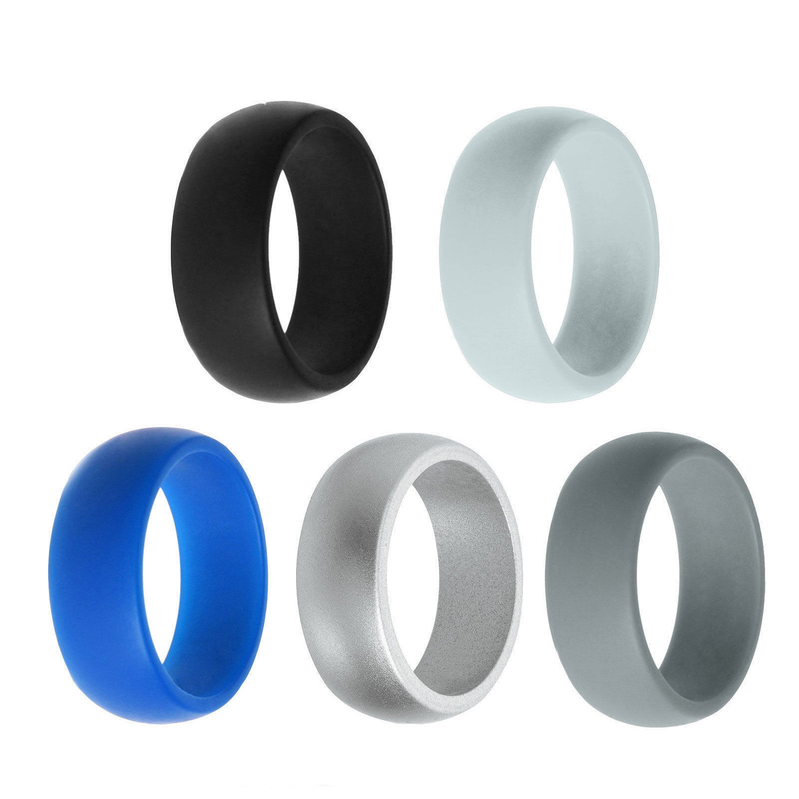 Custom Silicone Wedding Finger Ring