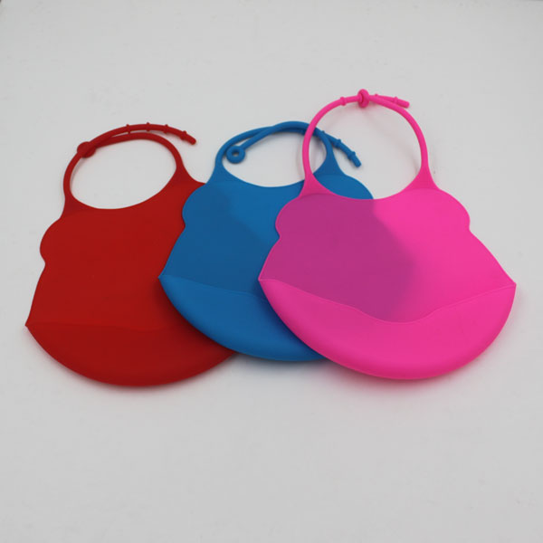 Custom Waterproof Silicone Baby Bib for Restaurant