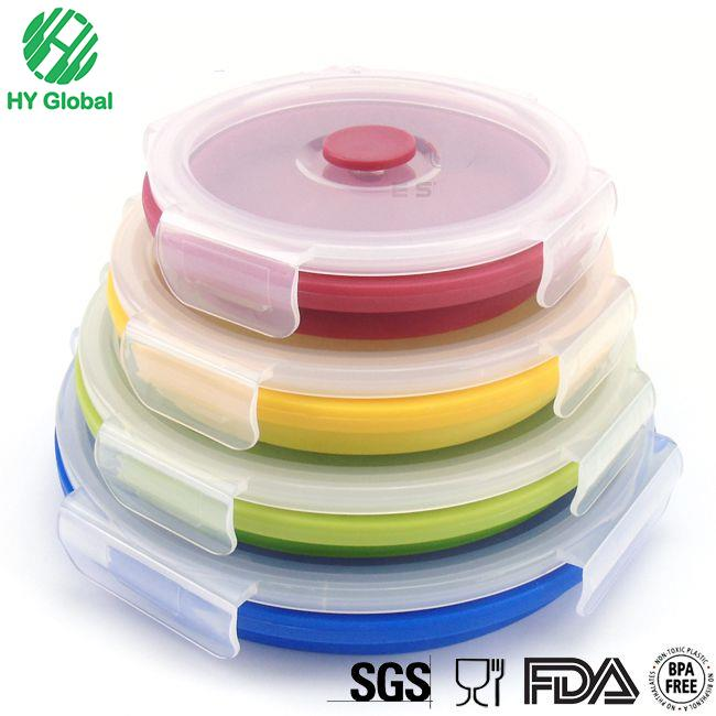 Silicone Microwave Food Storage Container