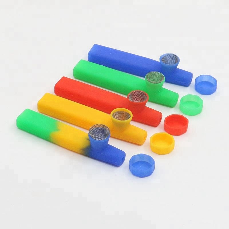 New product silicone smoking pipes,2018 Newest Mini Silicone Rubber Smoking