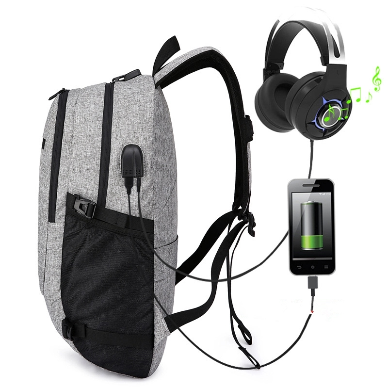 Anti-Theft Backpack With Usb Charger,USB Backpack Laptop Bag