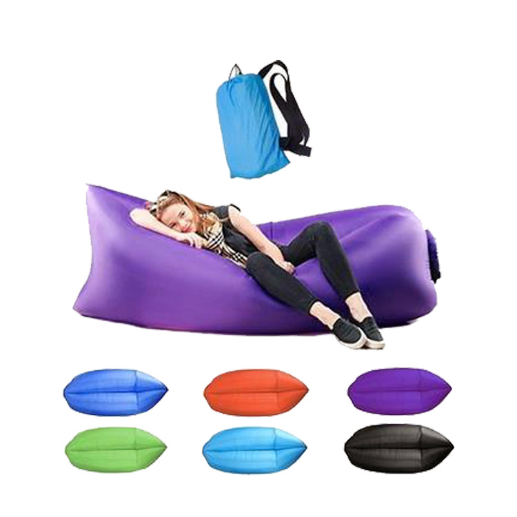Outdoor air lazy sofa inflatable sleeping bag
