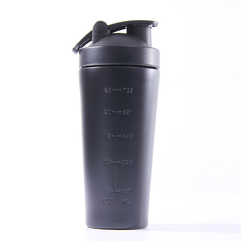 high quality stainless steel protein shaker bottle