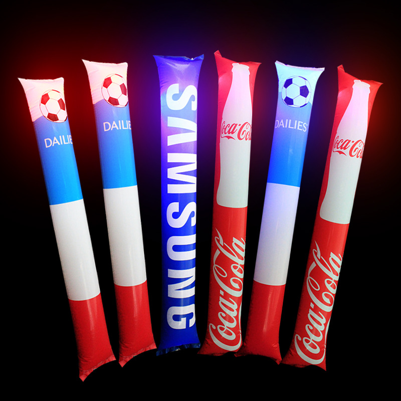 LED cheering stick,inflatable cheering stick