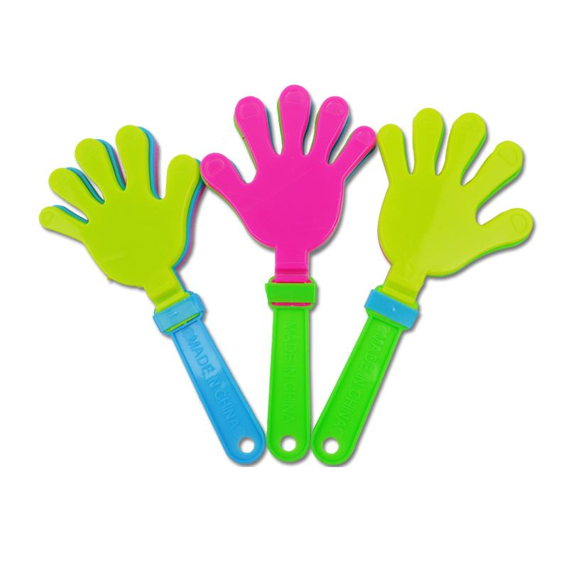 Customized Hot Sale Plastic Fan Clapper Hand Clapper