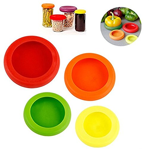 Reusable food lid Silicone Food Saver