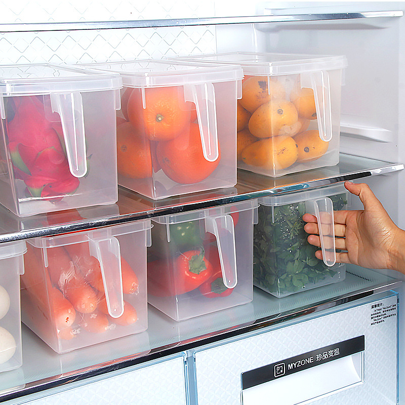 Kitchen Food storage Container Box with handle,Plastic storage containers