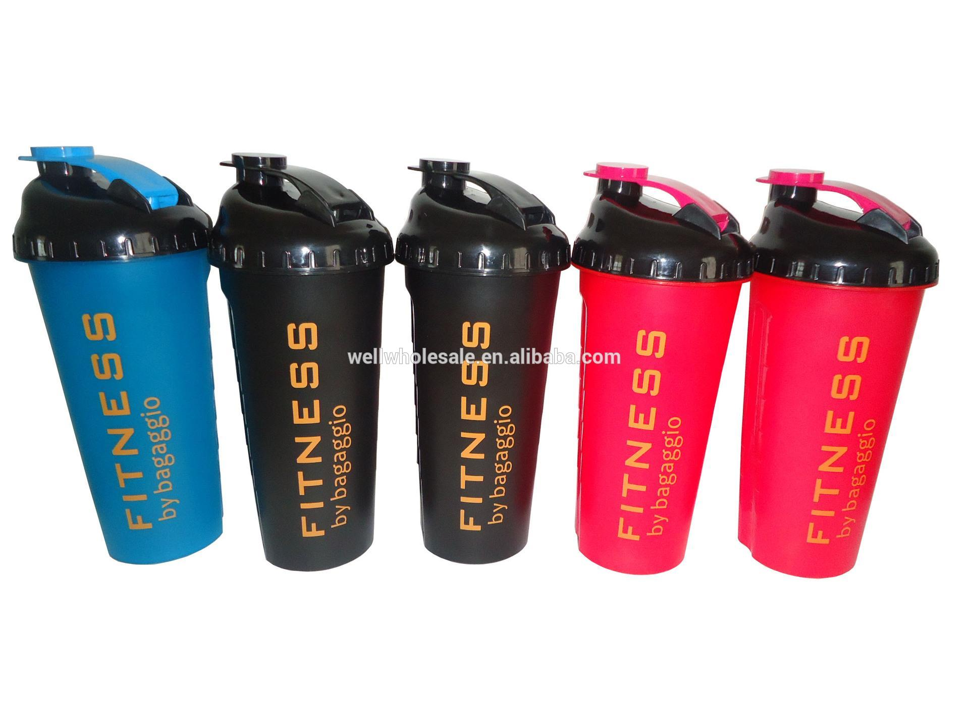 PP Shaker Bottle with screen,Protein Shaker cup with strai