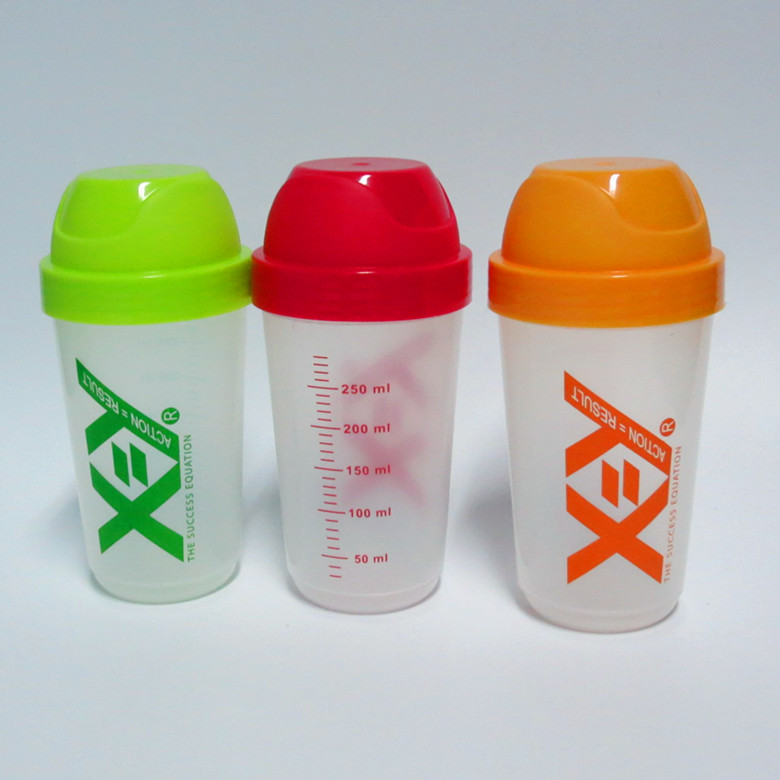 250ml BPA FREE Blender protein shaker bottle Small drinking female cute water bottle