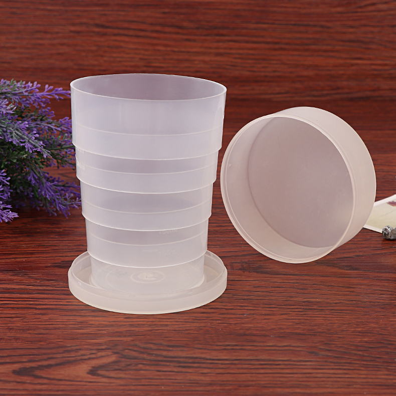 500ml Folding Cups,collapsible cups with ml marks