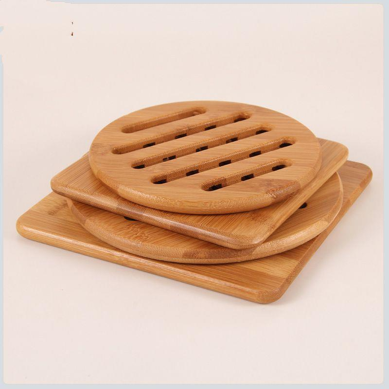 Wooden Bamboo Cup Coasters