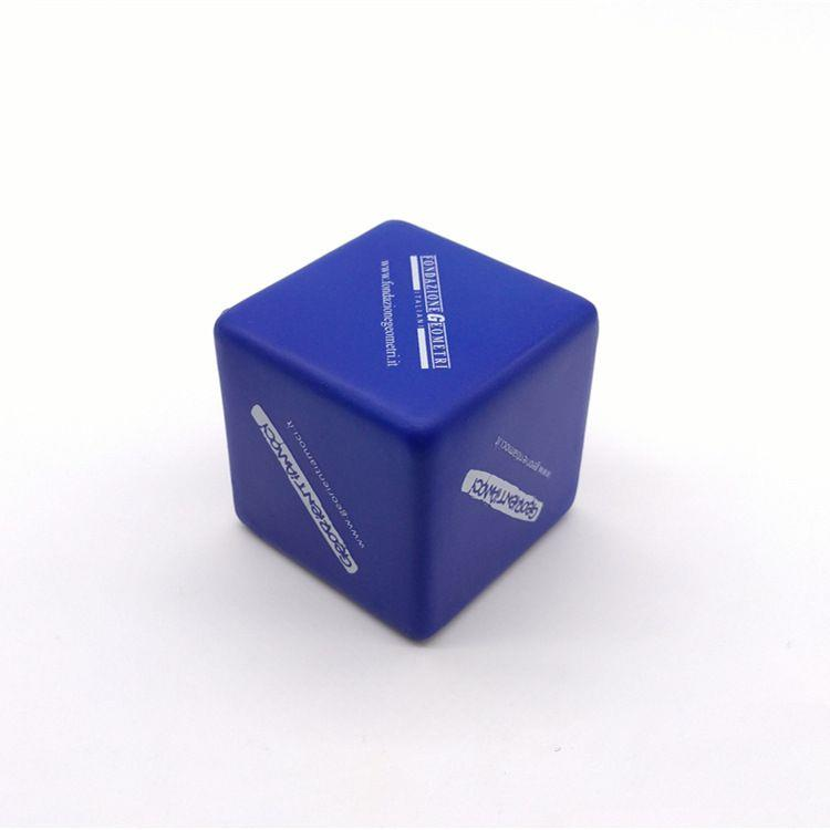 Foam Material cube stress ball