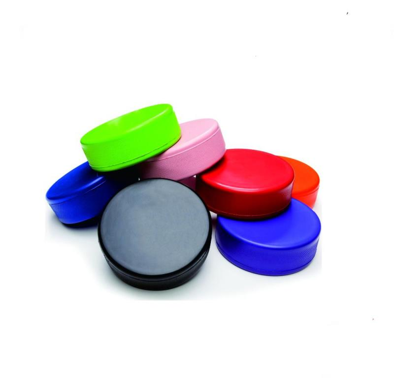 Promotional PU Foam Hockey Puck For Stress Relief