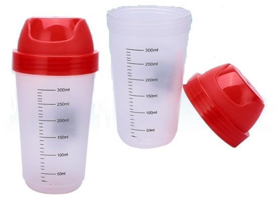 300ml protein shaker bottle cute shaker cup female