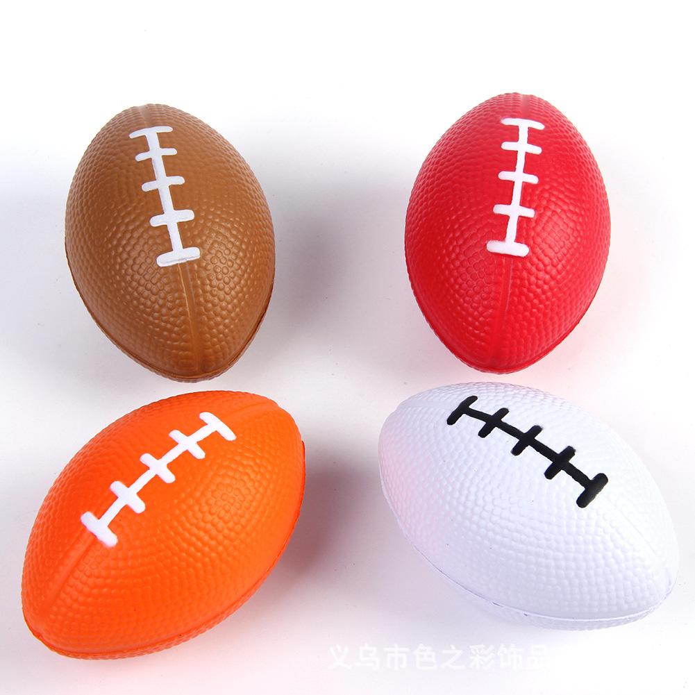 American Football Shaped PU Rugby Stress Ball