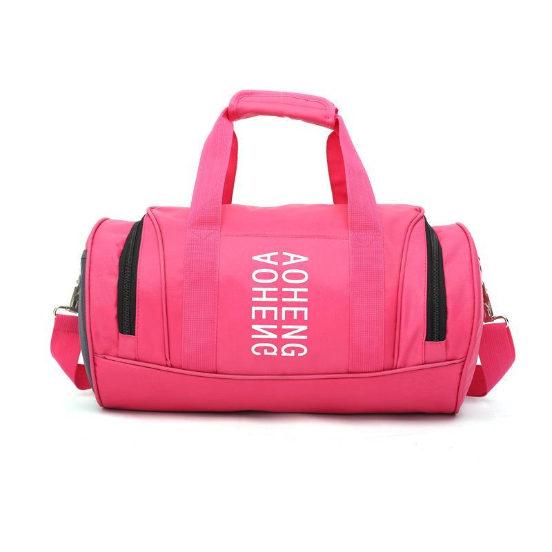 2018 Wholesale custom duffel bag sports gym bag