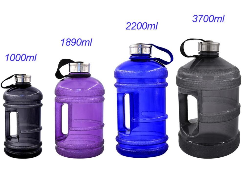 GYM Plastic water jugs with handle BPA Free