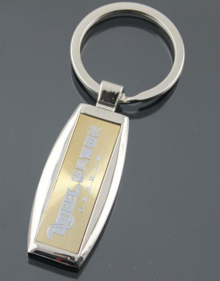 Custom Metal Key Tags