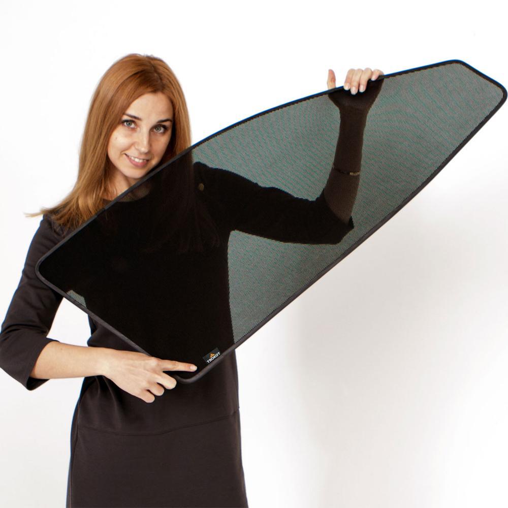 Magnetic mesh fabric car sunshade,customize car sunshade privacy shade for Accord