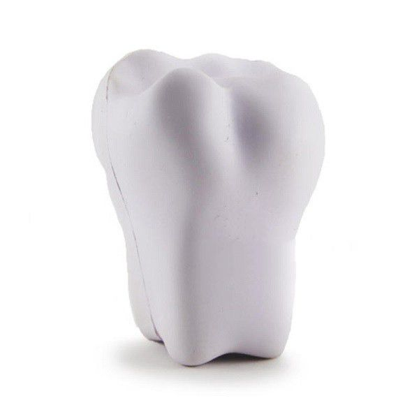 Promotional High Quality Soft Toy Tooth Stress Ball