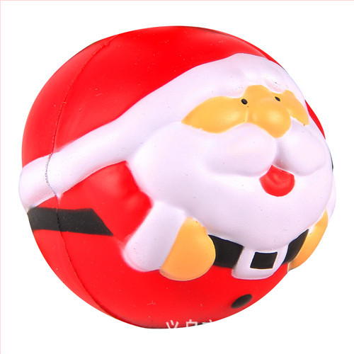 PU Stress Santa Claus Ball