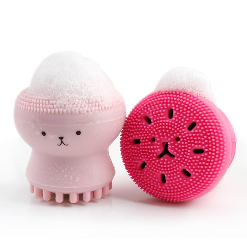 Cleaner Brush,Silicon Face Brush,Exfoliating Silicone Facial Scrubber