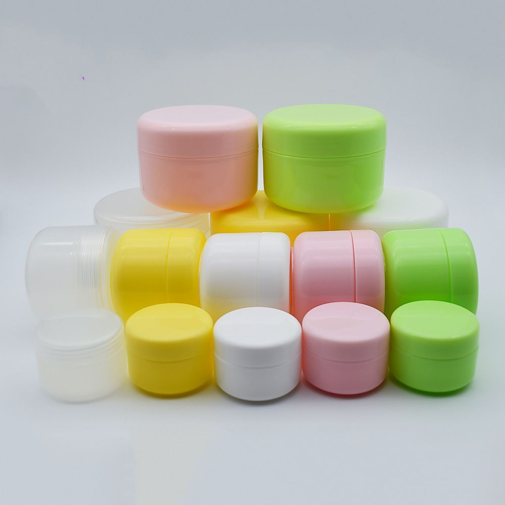 Skin Care Cream Use and PP Plastic Type cosmetic jar