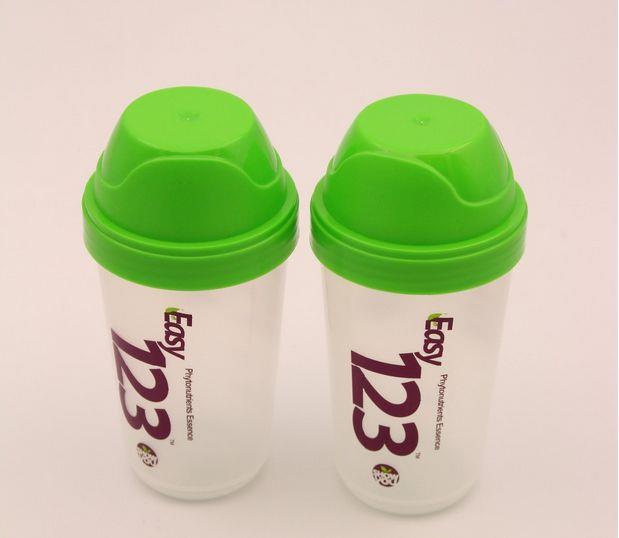 350ML Plastic Protein Powder Shaker Bottle