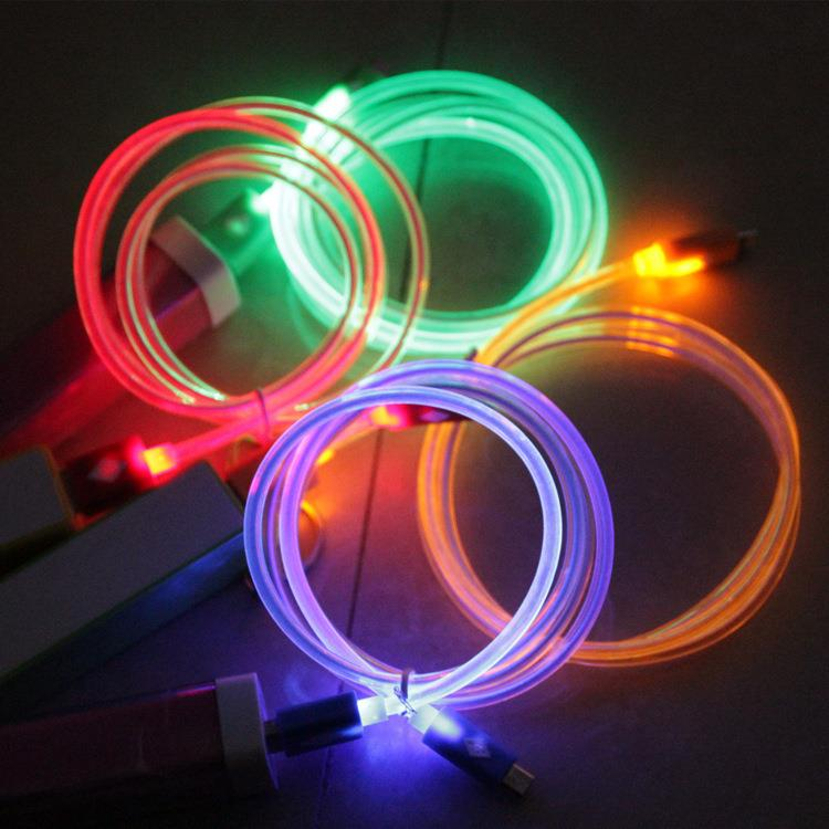 Factory Led Light Fast Charging Data Usb Cable Data Cable Mobile For Iphone5 6 7