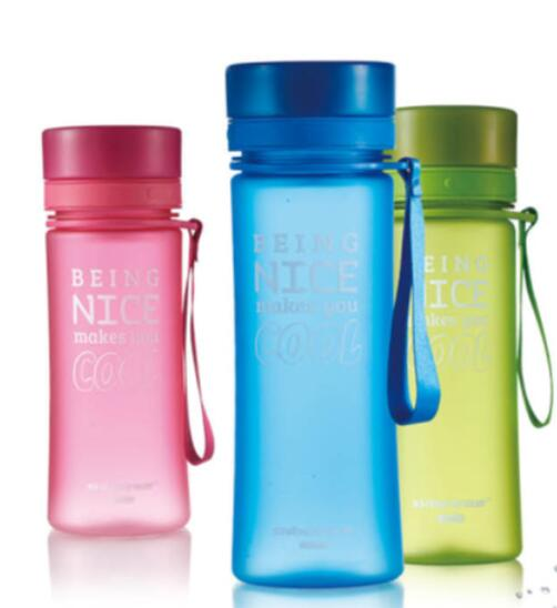 2018 new product frosted water bottle for promotional gifts