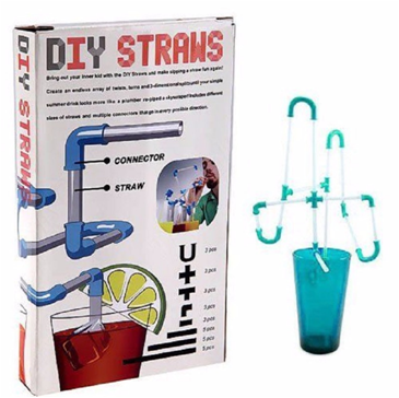 2018 new idea product Crazy DIY Straws