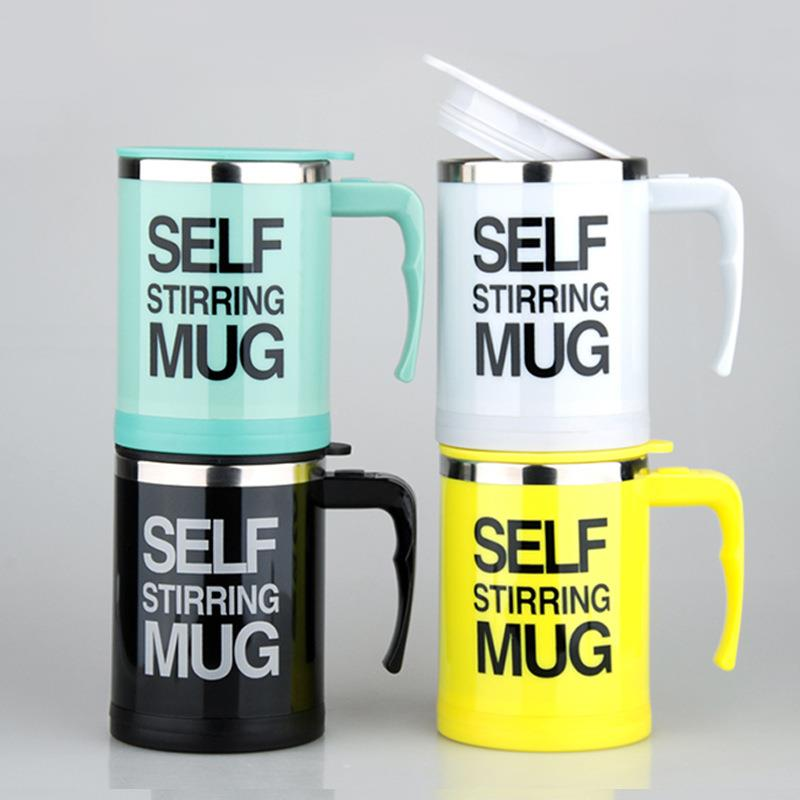 New design Self Stirring Thermal Auto Mixing Car Mug