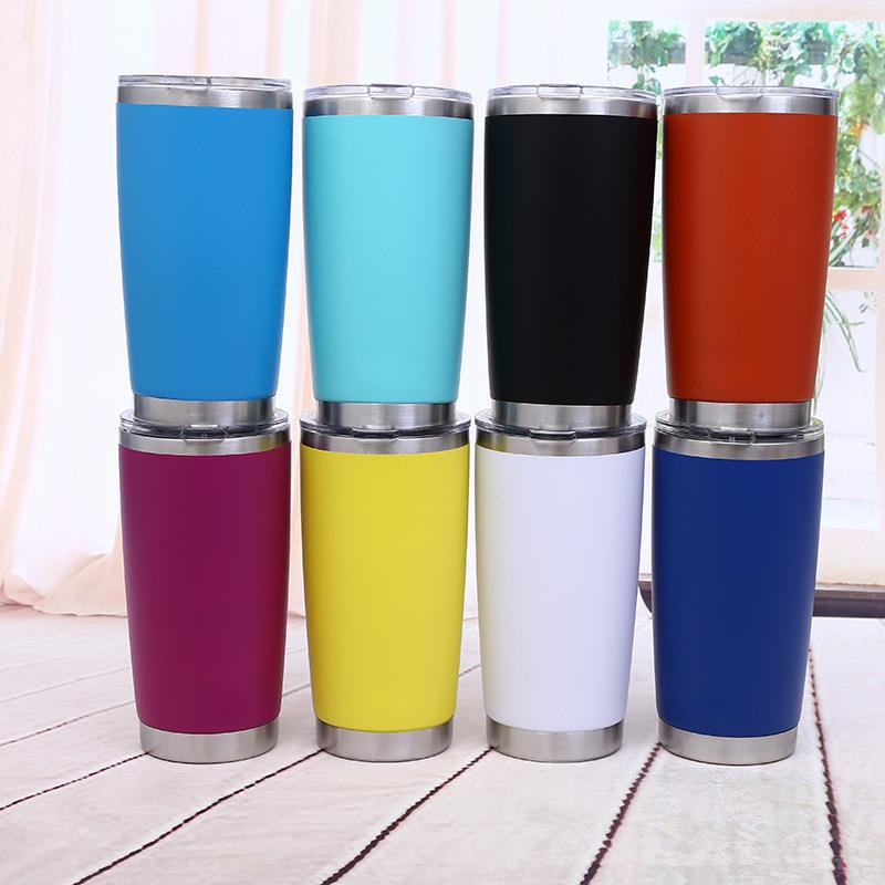 Double Wall Vacuum Insulated Stainless Steel Travel Tumbler Cup