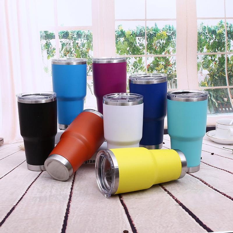 Everich/Kingvac China factory High quality stock Modern style stainless steel tumbler travel cup