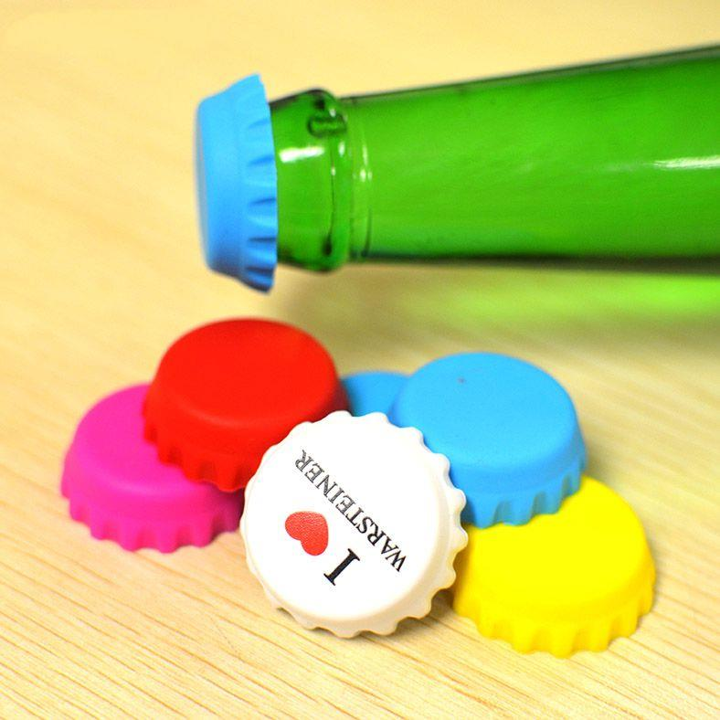 Wholesale Cheap Beer Saver Reusable Silicone Bottle Cap