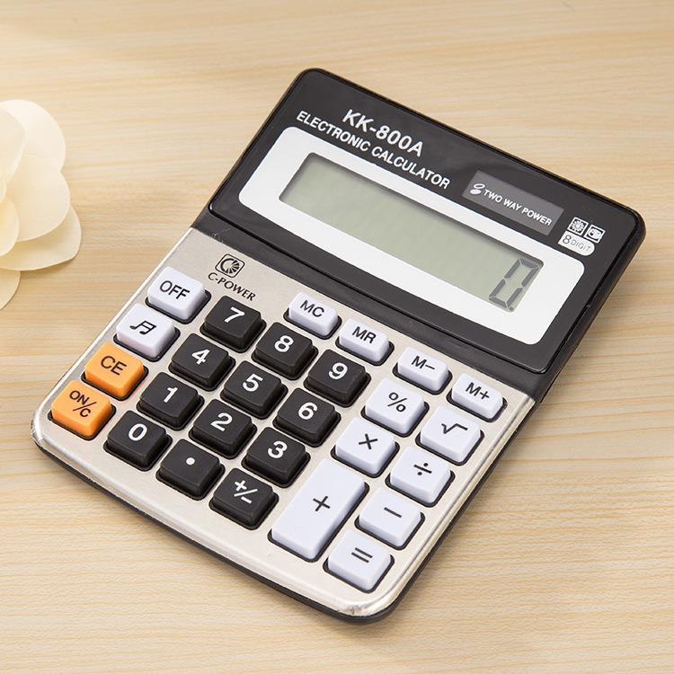 Office Supplies Wholesale Electronic Financial Calculator Good Quality Business Calculator For Promotion