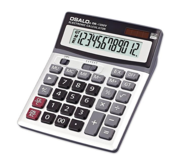 12 Digits Scientific Calculator Custom Solar Energy Calculator For Office Stationery