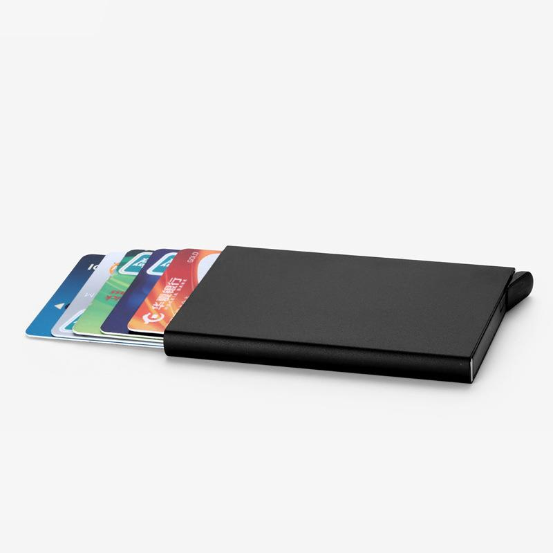 Custom Wallet Metal Aluminum Business Credit Card Holder