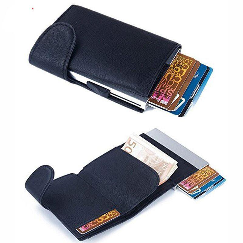 Multicolor Aluminum Money Clip Credit Card Holder/Slim Wallet