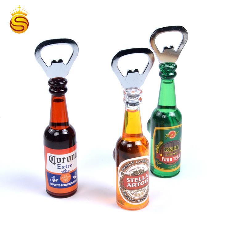 Latest Customized Souvenirs Beer Bottle Opener Acrylic Fridge Magnet